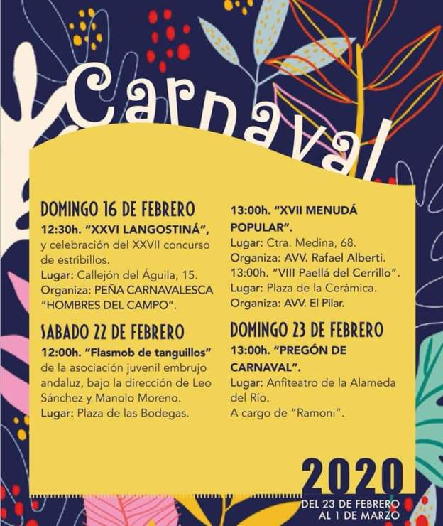 CARNAVAL CHICLANA 2020