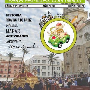 Portada Guia Semana Santa Cádiz y Provincia 2020 para familias con niños