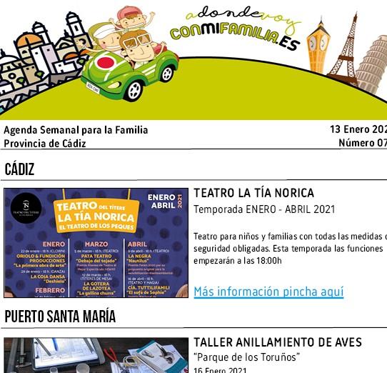 075 Agenda Semanal Familiar 13 Enero 2021 portada Adondevoyconmifamilia