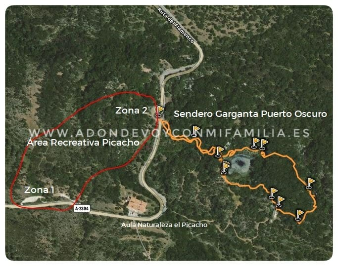 area recreativa el picacho adondevoyconmifamilia mapa v3