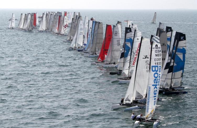 Eurocat 2011 - catamaran de sport - F18