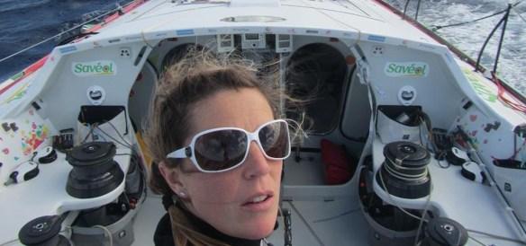 Course au Large IMOCA Vendee Globe 2012 Samantha Davies Savéol 840vs
