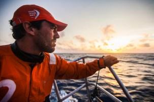 2014-15, Leg6, OBR, ONBOARD, TEAM ALVIMEDICA, VOR, Volvo Ocean Race, Mark Towill, sunset