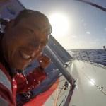 2014-15, Dongfeng Race Team, GoPro, Hero4, Leg6, OBR, VOR, Volvo Ocean Race, onboard, hygiene, shower, sun, face