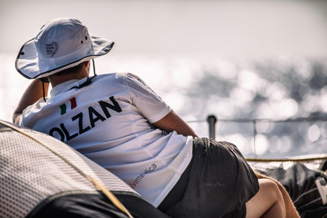 2014-15, Leg6, OBR, ONBOARD, TEAM ALVIMEDICA, VOR, Volvo Ocean Race, Alberto Bolzan, rest, bow