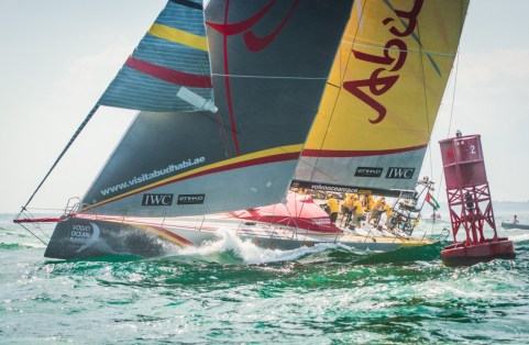 2014-15, VOR, Volvo Ocean Race, Leg7, Newport, Start, Abu Dhabi Ocean Racing