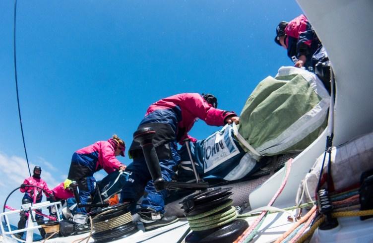 2014-15, Leg 7, OBR, Team SCA, VOR, Volvo Ocean Race, onboard, stack