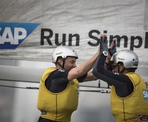 ESS, Extreme Sailing Series, Act3, Multihull, Qingdao, China, Day4.SAP Extreme Sailing Team