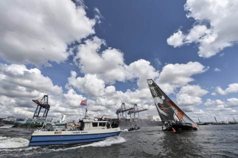 2014-15, VOR, Volvo Ocean Race, Gothenburg, Leg9, Arrivals, Team Alvimedica