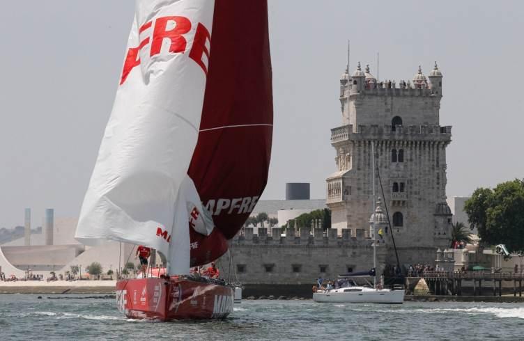 2014-15, Inport, Lisbon, RIB, VOR, Volvo Ocean Race, MAPFRE