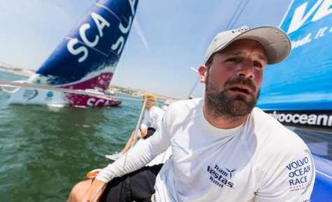 2014-15, VOR, Volvo Ocean Race, Lisbon, Team Vestas Wind, Inport, Simeon Tienpont