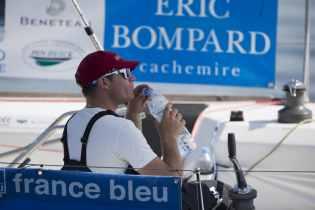 2015, DEPART, ERIC BOMPARD, ETAPE 2, FIGARO, SOLITAIRE DU FIGARO 2015, VOILE