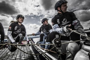Act4, Cardiff, Day2, Day4, ESS, Ed Smyth, Extreme Sailing Series, Fleet, Leigh McMillan, Multihull, Nasser Al Mashari, Pete Greenhalgh, Sarah Ayton, Stadium Racing, The Wave Muscat, UK