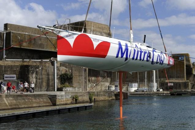 voile, classe imoca, class, 60 pieds, 60', monocoque, juillet, mise a l'eau, Bretagne, Sud, monohull, launching