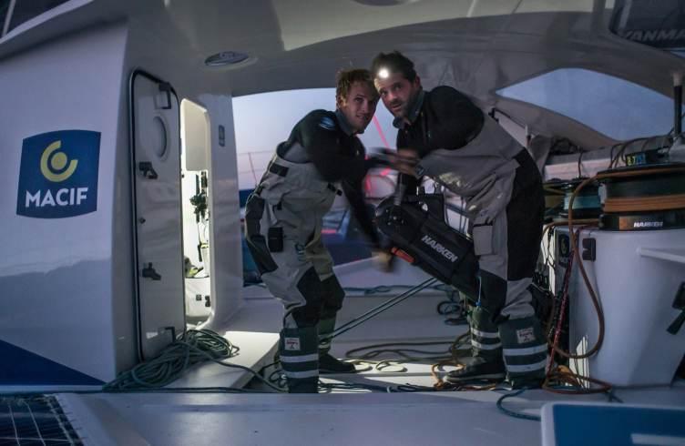 François Gabart, Macif, Onboard, Pascal Bidegorry