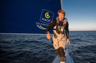 François Gabart, Macif, Onboard
