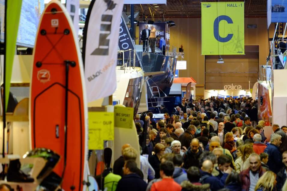 Canal Plus, Caterine&Lilliane, Le petit Journa, Nautic2015, Raoul Dobremel