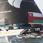 GC32, Foiling Catamaran, Muscat, Oman, The Extreme Sailing Series, Oman Air, Morgan Larson