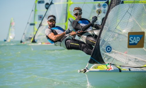 2016, 49er, 49erFX, Clearwater Sailing Center, Florida, World Championships, olympic sailing