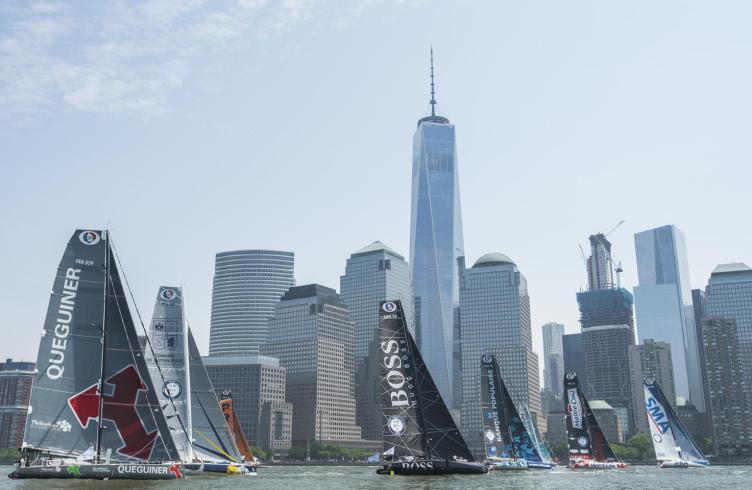 05-2016, DAY, IMOCA, JOUR, MANHATTAN, MONOHULL, NEW YORK CITY, NEW YORK-VENDEE, New York, OCEAN MASTER, OUTSIDE, SINGLE HANDED, USA