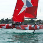EASY TO FLY, CATAMARAN, FOILS, VOILE, SAILING