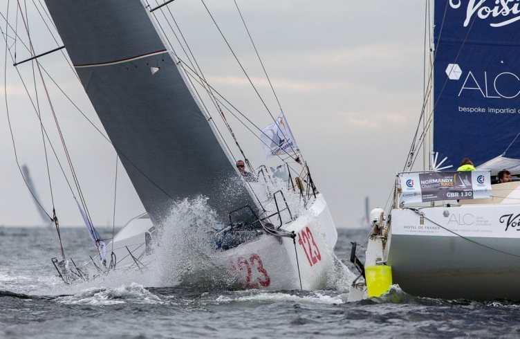 2016, DEPART, class 40, double, ncr, normandy channel race 2016, start