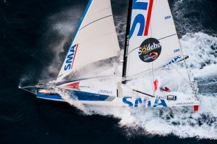 septembre, medium, banque images, photos, aerial, helico, forfait, voile, sailing, mer, sea, action