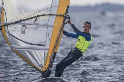 2017 World Cup Series Hyères, Classes, Jesus Renedo, Olympic Sailing, RS:X Men, SUI 36 Mateo Sanz Lanz SUIMS27, Sailing Energy, World Cup Series Hyères 2017, World Sailing