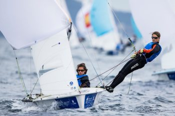 2017 World Cup Series Hyères, 470 Women, Classes, Olympic Sailing, Pedro Martinez, SUI 5 Linda Fahrni SUIFL2 Maja Siegenthaler SUISM14, Sailing Energy, World Cup Series Hyères 2017, World Sailing