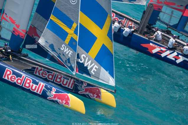 2017, 35th America's Cup Bermuda 2017, AC35, Sailing, Bermuda, Aeriall, RD2, Day2, Artemis Youth Racing, Sweden