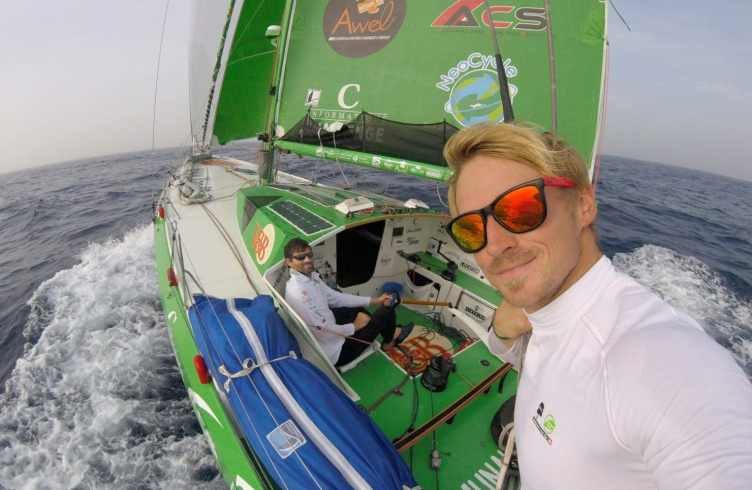 voile, transat, ambiances, large, offshore, race, course, photographes skippers, Jacques Vabre