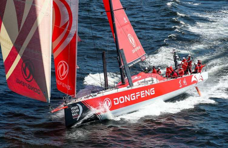 2017-18, Aerial, Cape Town, Dongfeng, Helicopter, In-port Race, Kind of picture, South Africa, host city, port