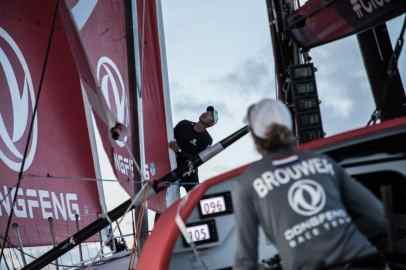 © Martin Keruzore/Volvo Ocean Race