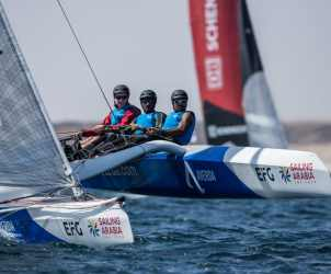 Water Sport, Sailing, Diam24, Multihull, Oman, 2018 EFG Sailing Arabia The Tour, Salalah