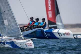 Water Sport, Sailing, Diam24, Multihull, Oman, 2018 EFG Sailing Arabia The Tour, Salalah