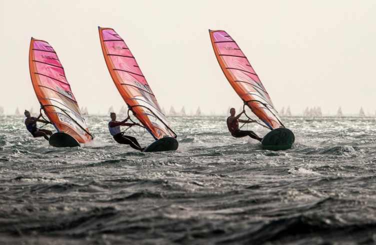 221 ESP 1 Blanca Manchon (W) RS:X Women, 226 FRA 57 Hélène NOESMOEN (W) RS:X Women, 249 ITA 46 Flavia TARTAGLINI (W) RS:X Women, Classes, Olympic Sailing, RS:X Women, Sailing Energy, World Cup Series Miami, World Sailing