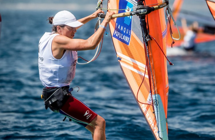 CLASSES, FRA 4 Charline Picon (W) RS:X Women, Olympic Sailing, RSX Women, Sailing Energy, World Cup Series Hyeres, World Sailing