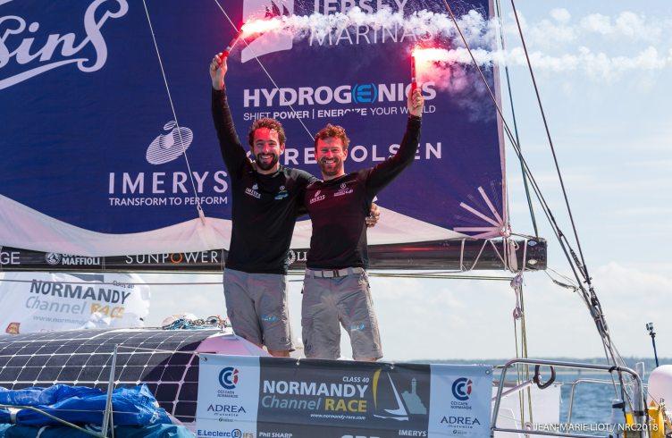 2018, arrivee, normandy channel race 2018
