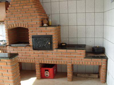 Churrasqueira com forno e fogo  lenha  7 Grill