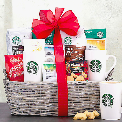 Coffee Christmas Gift Baskets