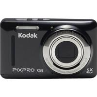 KODAK PIXPRO FZ53 Friendly Zoom Digital Point & Shoot Camera, Black