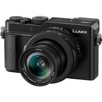 Panasonic Lumix DC-LX100 II Digital Point & Shoot Camera with 24-75mm LEICA DC Lens, Black