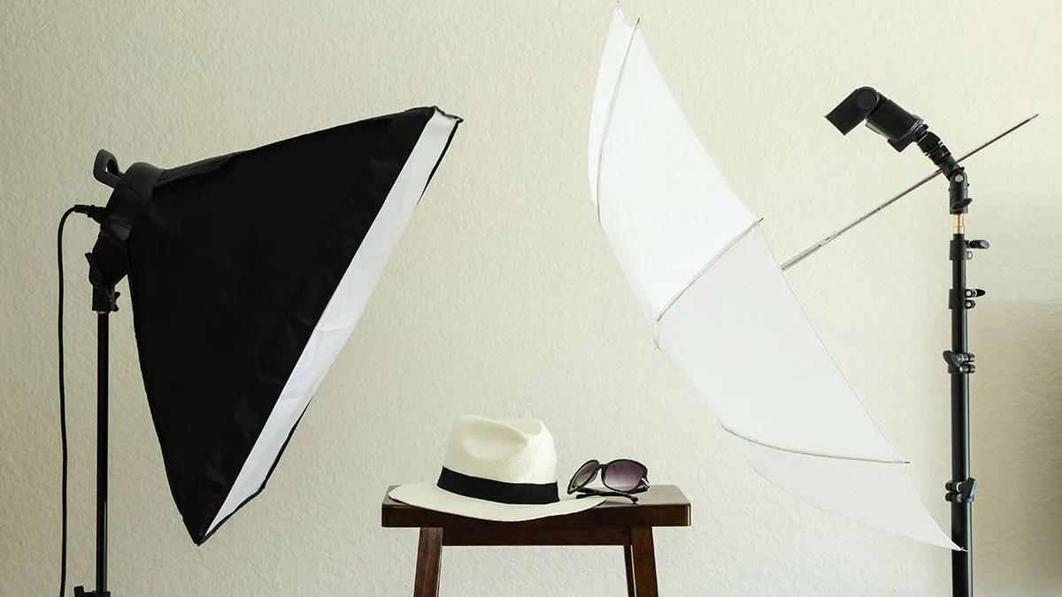 Portrait Softbox Lighting Setup