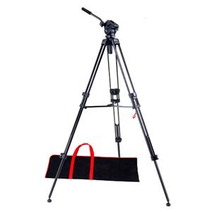 Acebil I-605DX 2-section Aluminum Video Tripod with 605