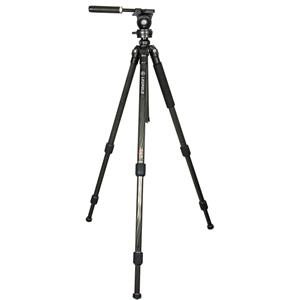 Leupold 3-Section Carbon Fiber Tripod with Foldable 3-Way