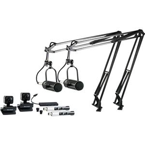 MXL VPS DUO Visual Podcasting Station, 2x BCD-1 Mics & 2x