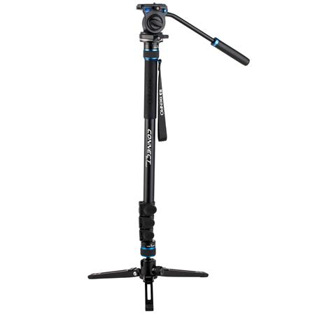 Benro MCT28AFS2 Connect Video 4 Section Aluminium Monopod