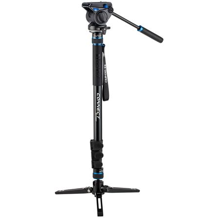 Benro MCT38AFS4 Connect Video 4 Section Aluminium Monopod
