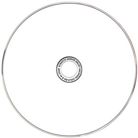 Delkin Devices 6x BD-R Gold Blu-ray Printable Disc, 25