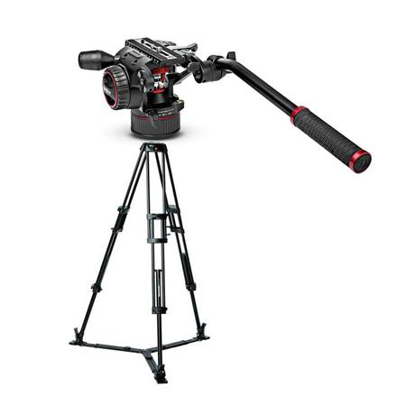 Manfrotto 546GB Aluminum Professional Video Tripod With